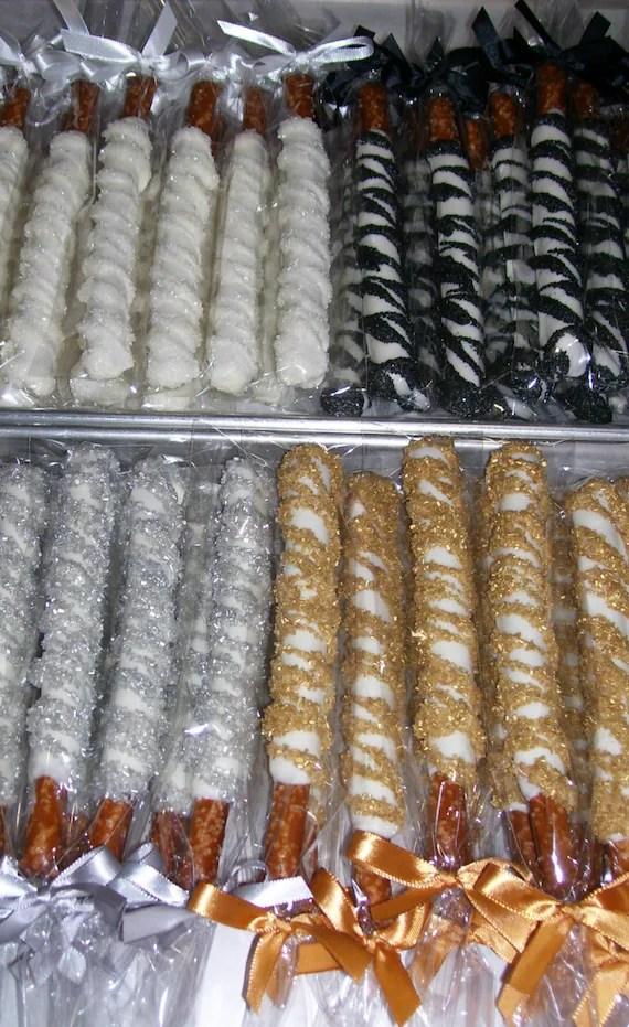 Pretzel Rods Chocolate covered Pretzel Rods by MarieGrahams