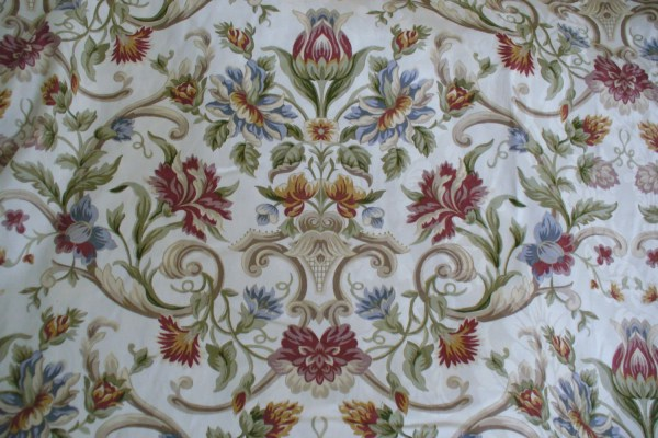 Fabric Yard Cotton Beautiful Floral Print Home