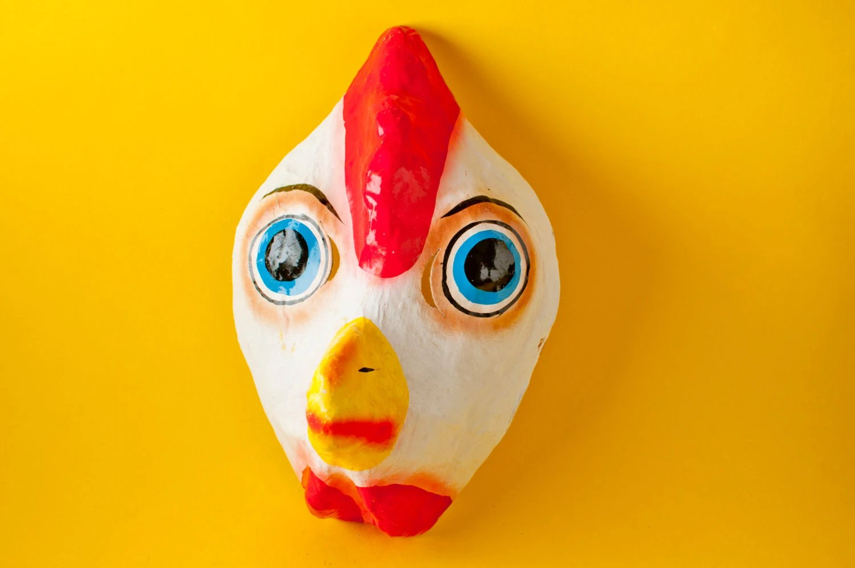Chicken Paper Mask