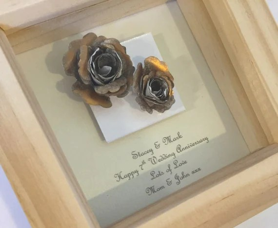 Items Similar To 7th Copper Wedding Anniversary Gift, 7th
