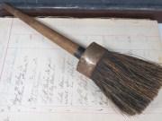 antique horse hair stencil stipple