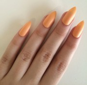 items similar matte orange stiletto