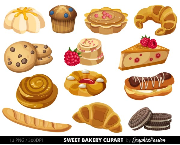 bakery clipart sweet treat