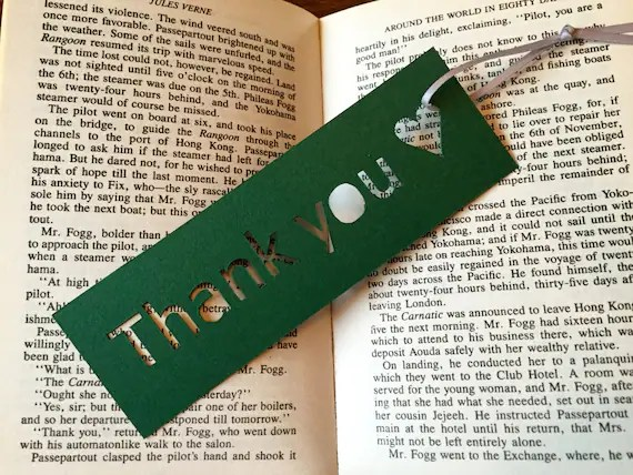 Items Similar To Bookmark, Small Gift, Thank You Gift