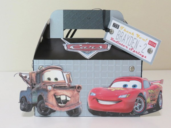 Disney Cars Movie Inspired Goody Boxes 8 Pieces