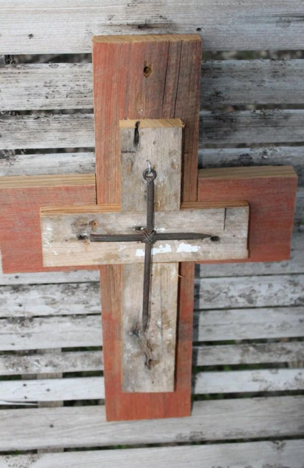 Wood Cross Wall Decor Unique Crosses Larusticwoodworks