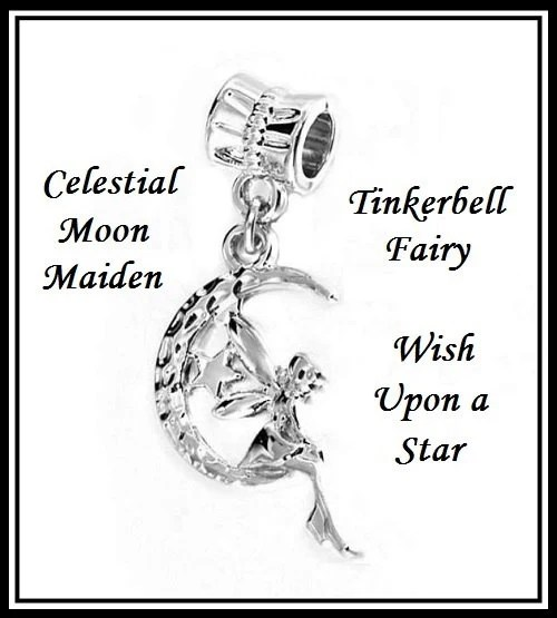 Celestial MOON Maiden Tinkerbell Fairy Wish Upon a STaR