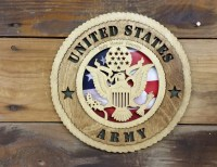 Army Tribute Plaque Army Wall Decor Army Gift by legacyimages
