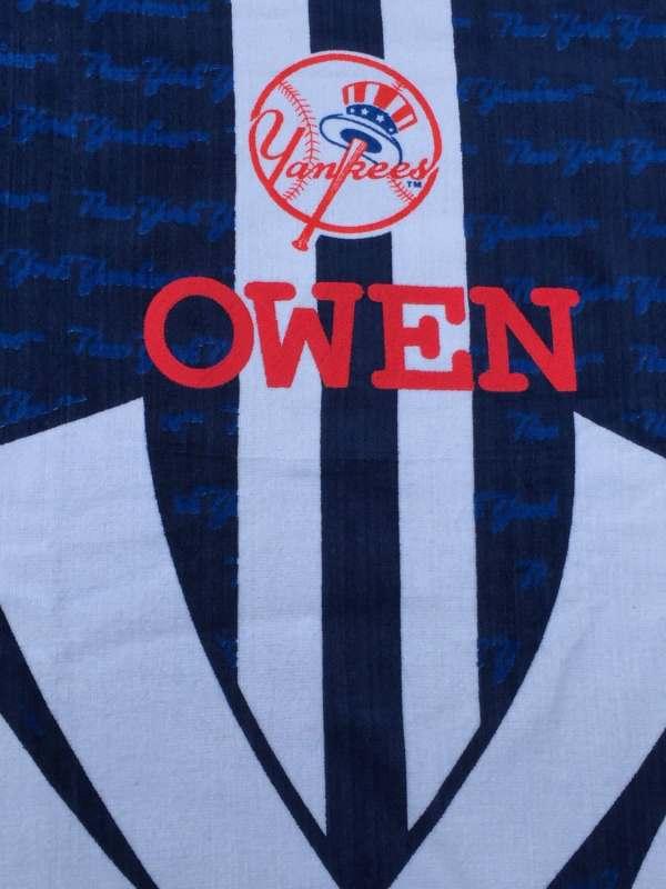 Mlb Baseball York Yankees Beach Towel Personalized
