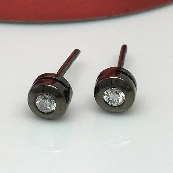 Real diamond stud earrings for men mens diamond studs by