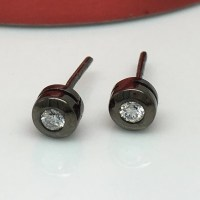 Real diamond stud earrings for men mens diamond studs by ...
