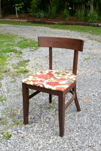 Mid Century Desk Chair Sewing Chair Danish Modern MCM