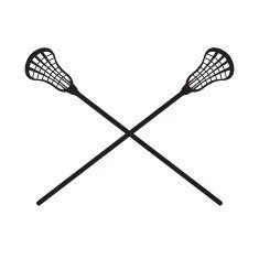 Lacrosse Sticks Decal