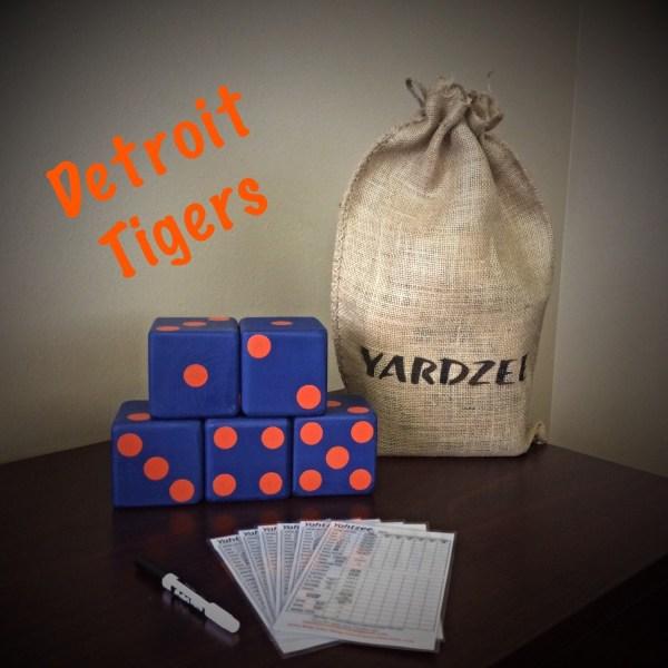 Detroit Tigers Yardzee Game