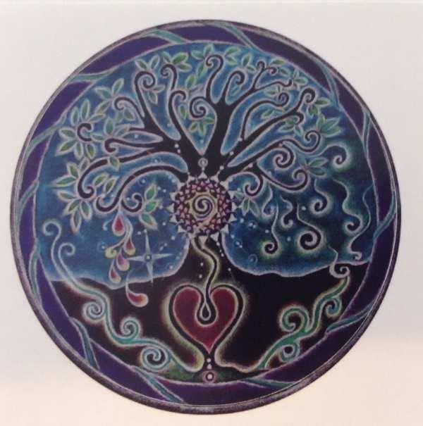 Mandala Sticker Blessing Tree Of Life