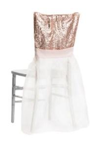 Sequin Tutu Chair Covers Chiavari Chair Slip Cover