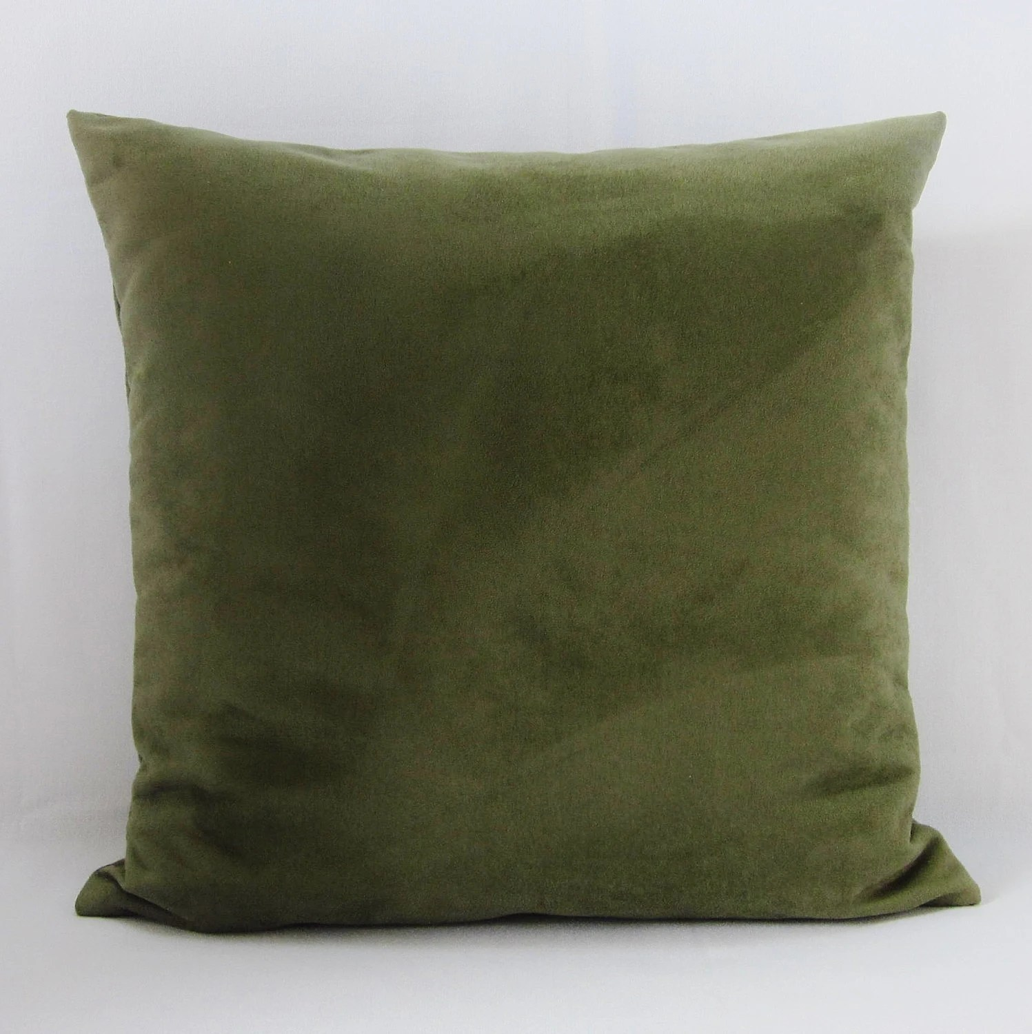chair covers sage green bertoia style white olive suede pillow cover decorative throw accent