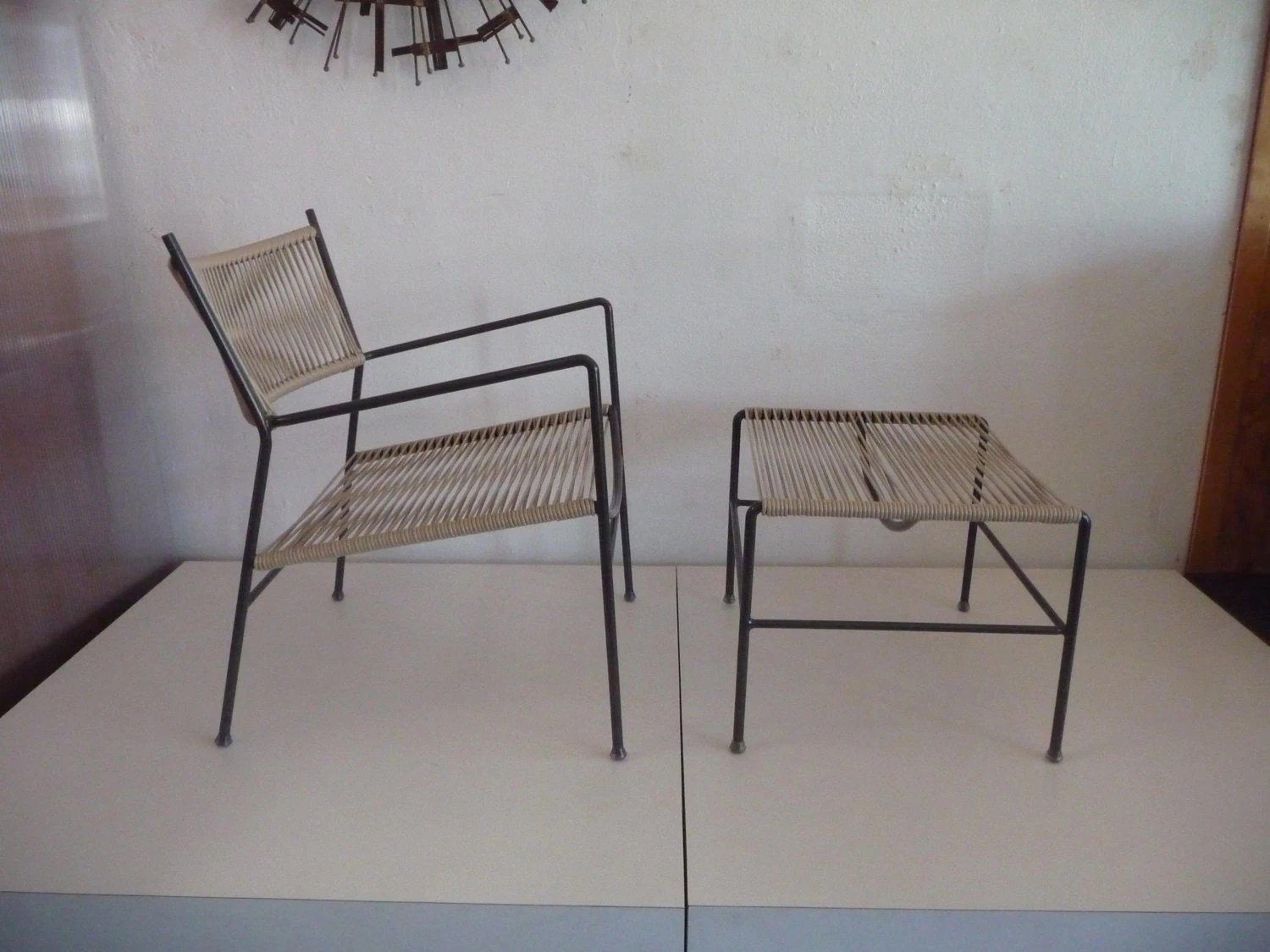 Mid Century Patio Chairs Outdoor Patio Chair And Ottoman Mid Century Modern Patio