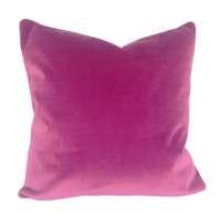 Pink Velvet Pillow Cover Throw Pillow by PillowTimeGirls ...