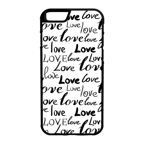 Love Love Love iPhone Galaxy Note LG HTC Hybrid Rubber