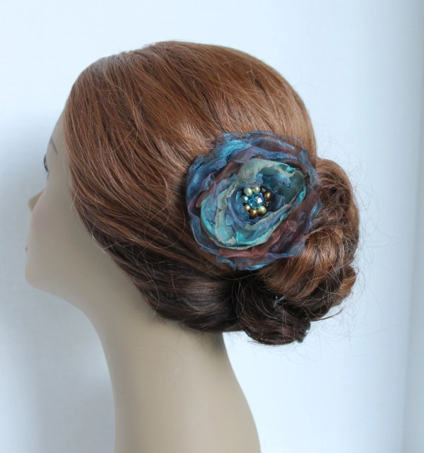 Turquoise Hair Clip Wedding Comb Accessories