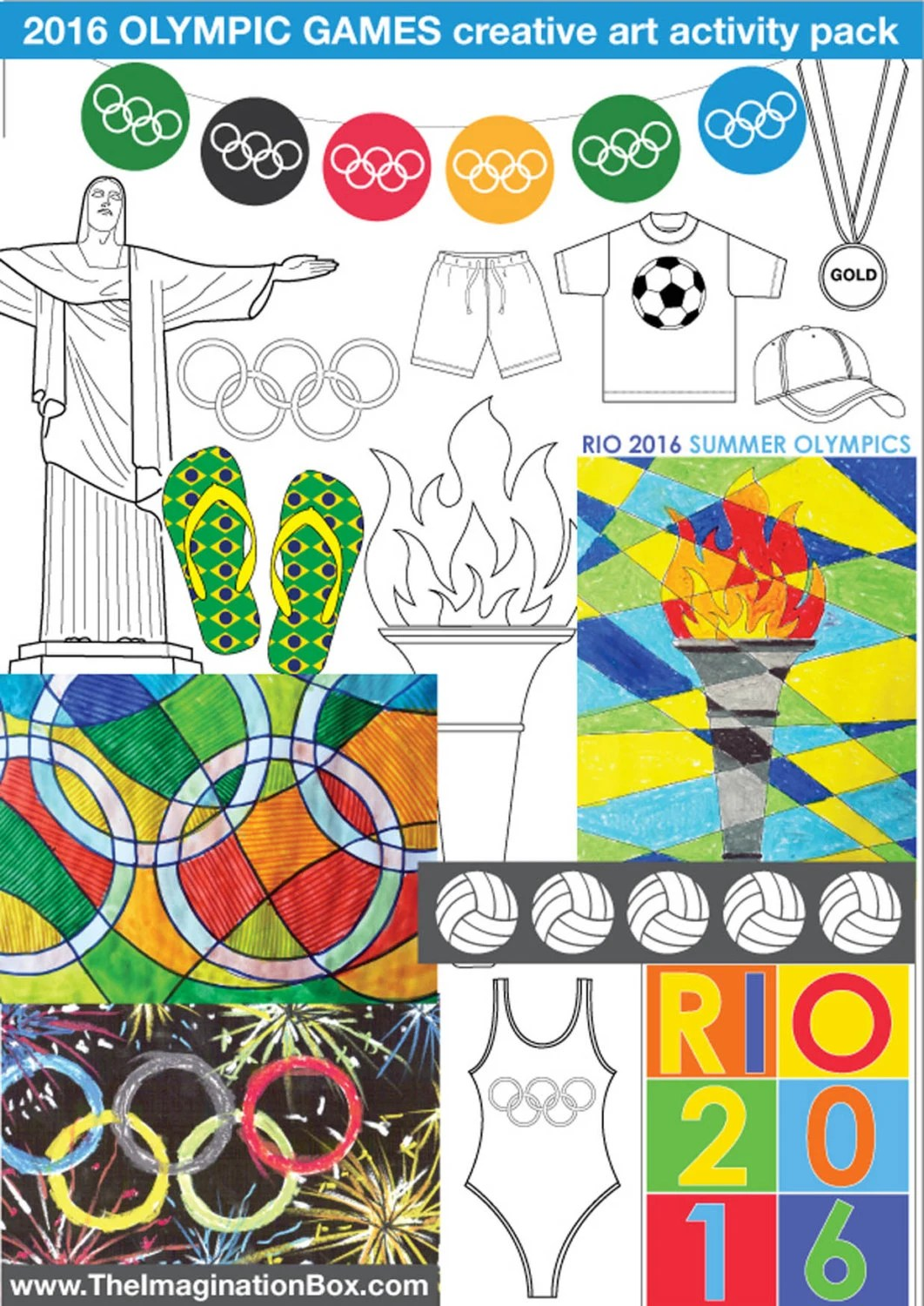 Kids Summer Games Bumper Art Amp Craft Activity Pack