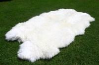 Sheepskin Rug White Sheepskin Rug Real by naturalsheepskin
