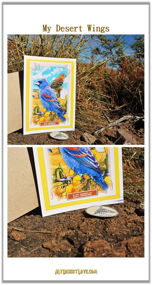Blue Bird Greeting Card, ...