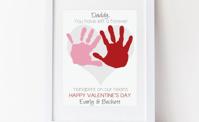 Dad Valentine S Day Gift For Daddy From Kids By