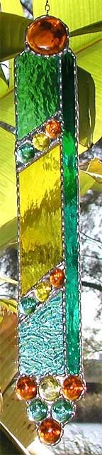 Suncatcher Decorative Glass Nugget Stained by ...