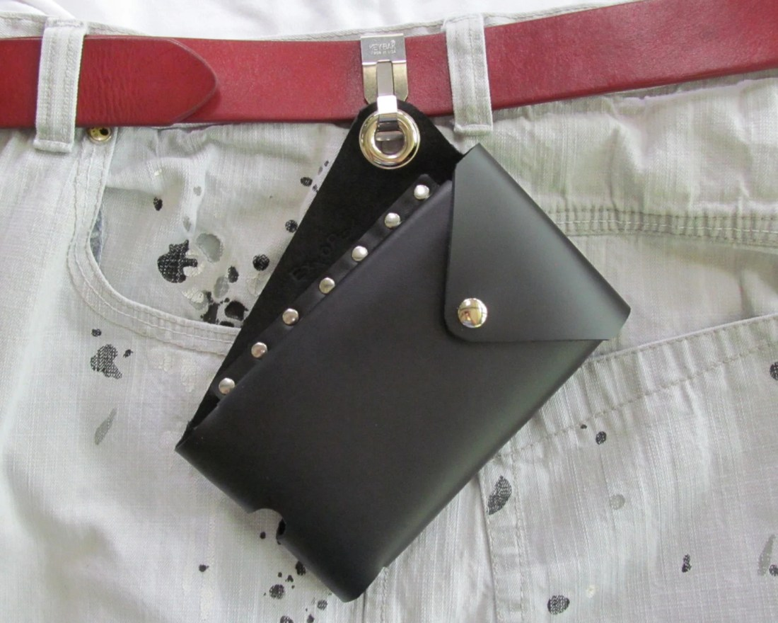 Cell Phone Pouch Leather,...