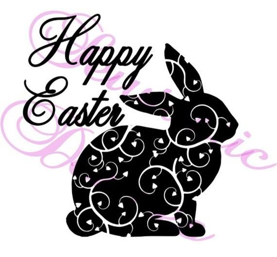 Download Happy Easter Cut File, Cricut, MTC, SCAL, Silhouette ...