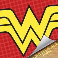 Superhero Wonder Woman Pop Art Wall Art /Wonder by Cr8tiveACE