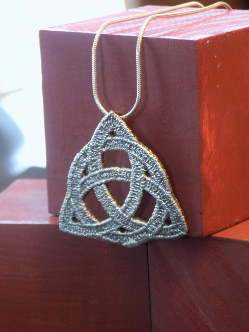 Sterling Silver Celtic Tr...