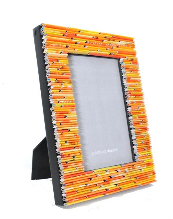 Yellow 5X7 Picture Frame