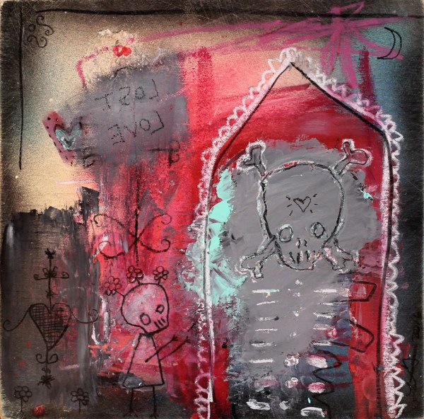 Gothic Abstract Art Paintings