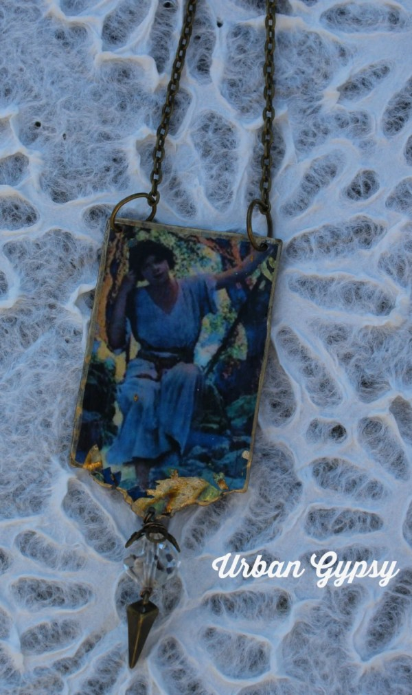 Maxfield Parrish Inspired Famous Painting Girl Swing
