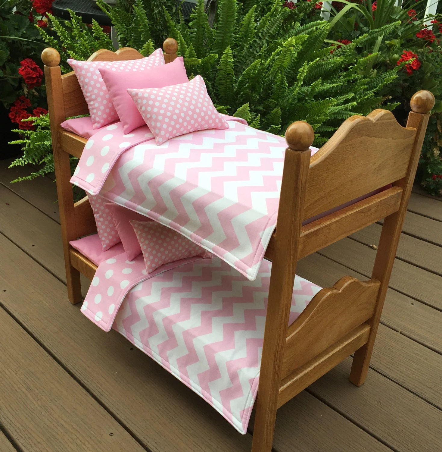 american girl doll chairs grey fabric chair covers furniture bunk beds