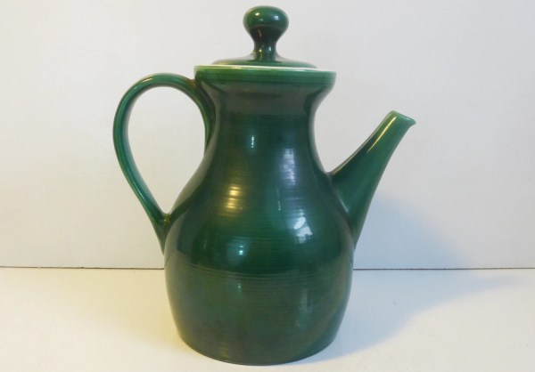 Red Wing Pottery Butter Mold Large Stoneware Pitcher With Lid