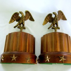 Tell City Chairs Pattern 4548 Kids Wheel Chair Eagles And Wood Bookends Vintage Co Indiana