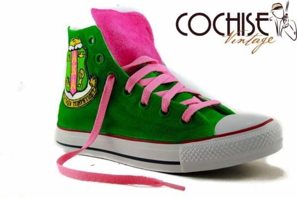 Custom Airbrush Converse Chuck Taylor Allstars by