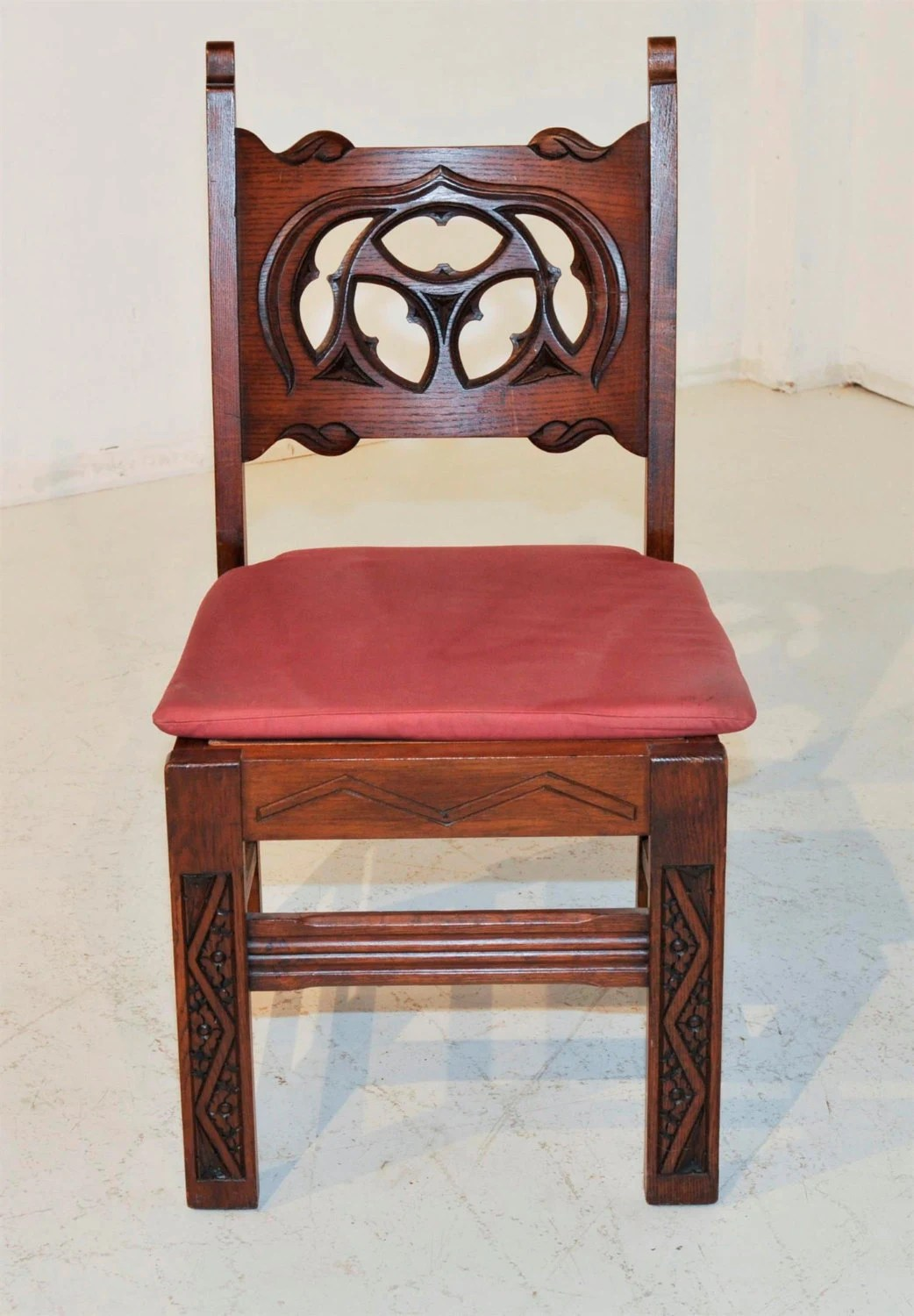 medieval dining chairs graco blossom 4 in 1 high chair seating system 2 gothic carved backs solid by