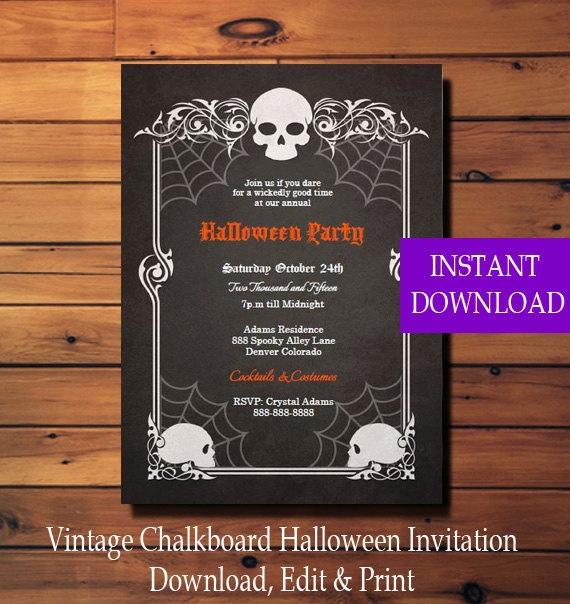 vintage birthday invitation templates