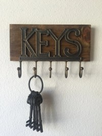 Wall Key Holder Rustic Key Holder Key Holder Wall Key Rack