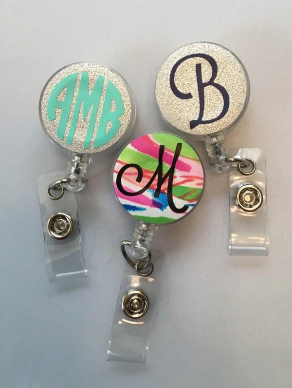 Personalized Retractable Badge Reels-nurse