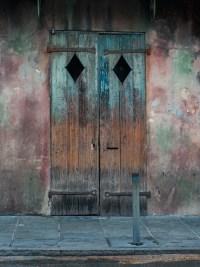 Rustic Door Photography New Orleans Print Blue Door Wall