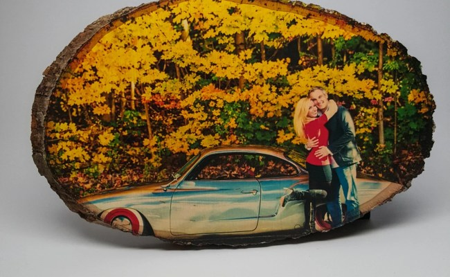 Custom Photo On Wood Gift For Her Gift For Him Picture