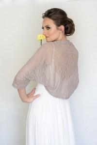 Evening shawl and wrap taupe bridesmaid shrug autumn