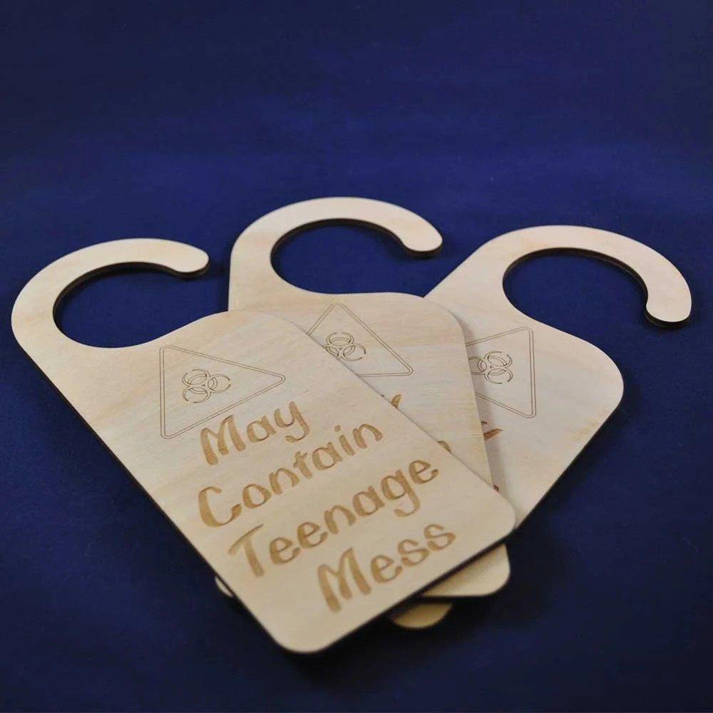 Teenage Mess Door Hanger:...