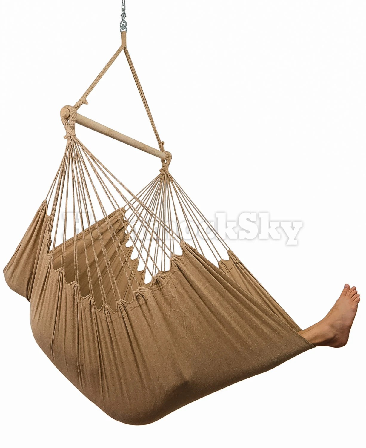 hanging sky chair rush seat hammock xxl with hardware and drink
